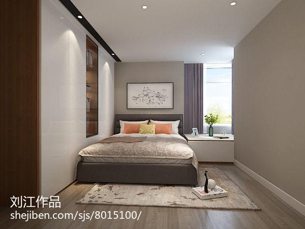 2018精选73平米简约小户型卧室装修图片大全