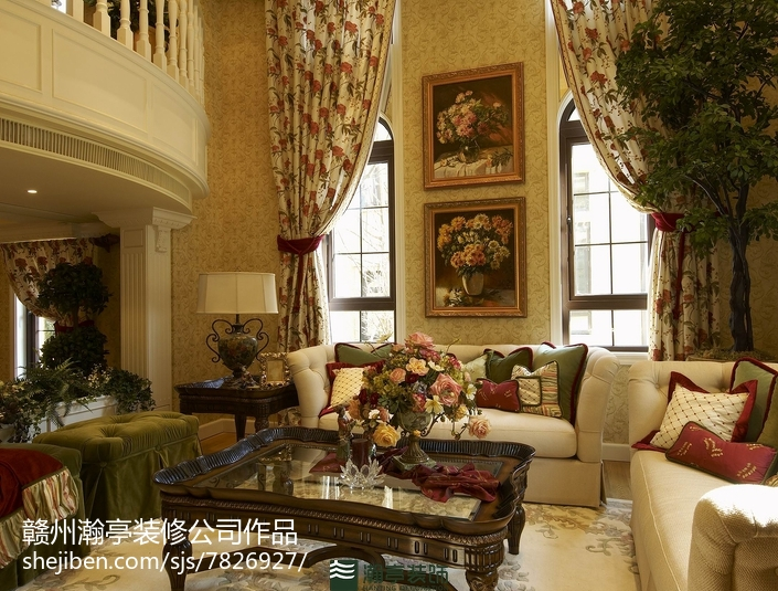 欧式新古典卧室装饰装潢
