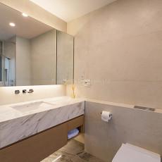 精选104平米三居卫生间现代装修效果图片欣赏