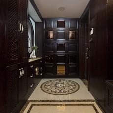 精美面积127平别墅玄关中式欣赏图片