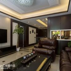 热门131平方中式别墅客厅设计效果图