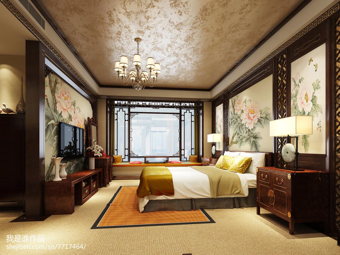 精巧温馨美式小卧室装修图