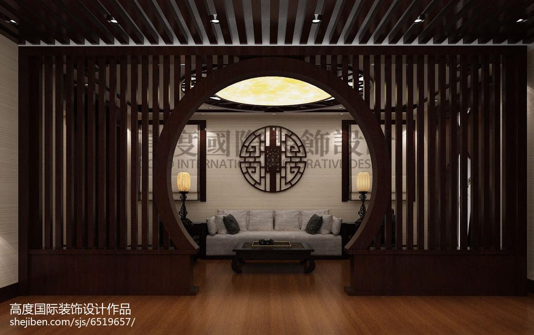 现代美式装修卧室窗帘