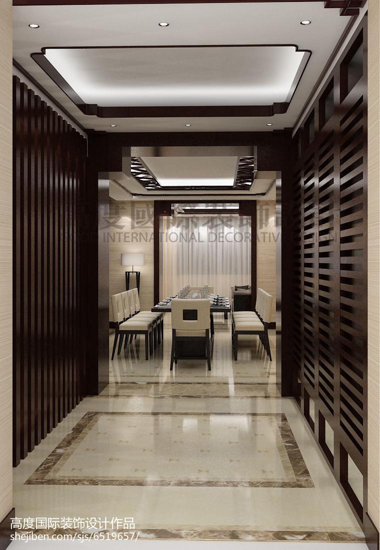 现代美式装修卧室图