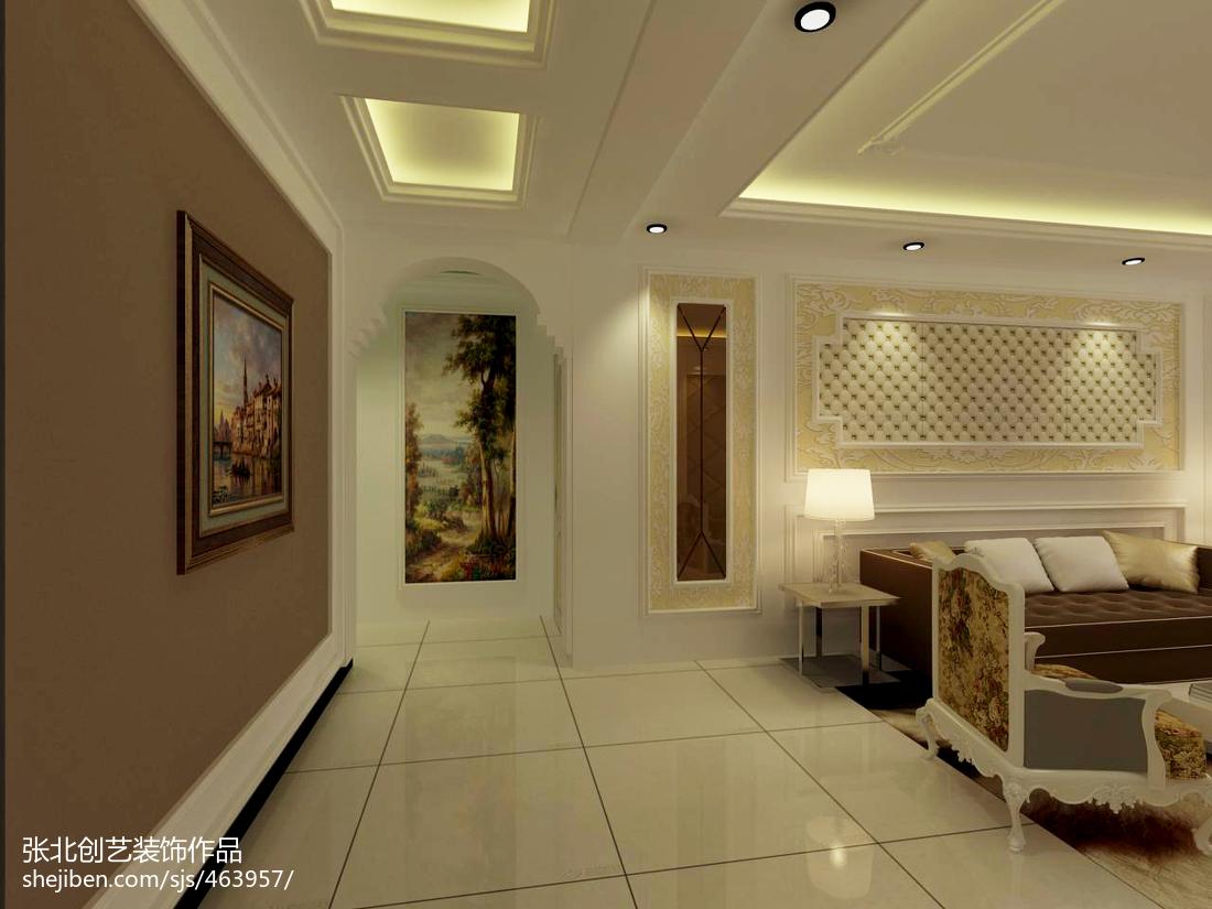 美式风格家装设计两居室装修图片