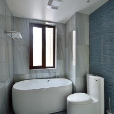 热门107平米三居卫生间北欧装修欣赏图片大全
