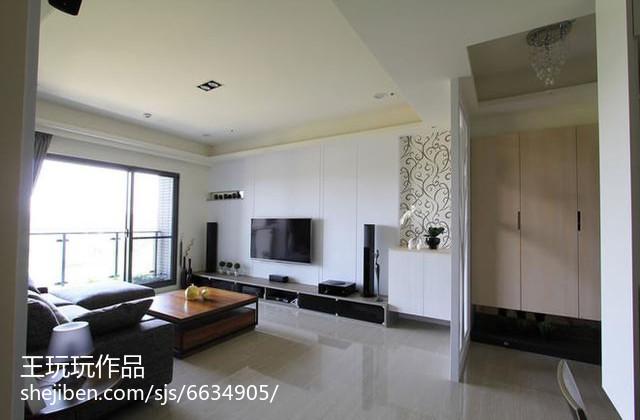 美式设计两室两厅欣赏