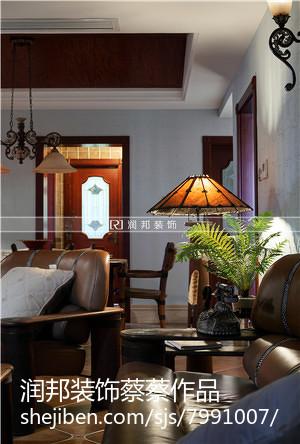 2018精选面积133平美式四居休闲区装饰图片大全