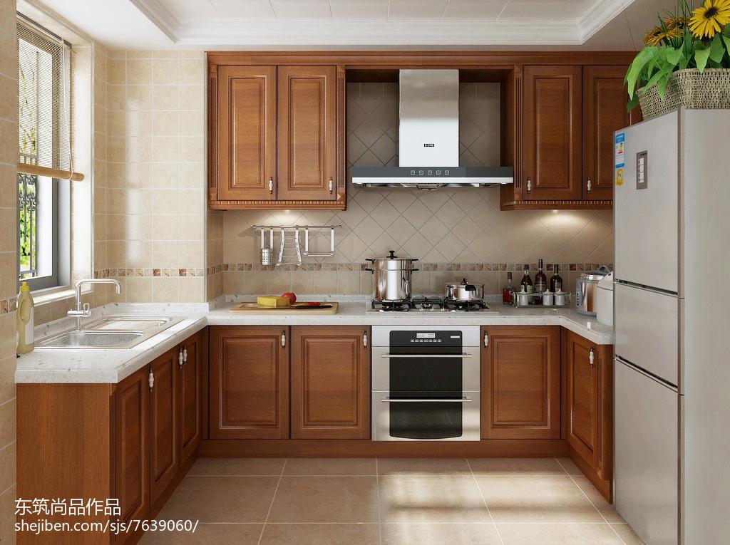 欧式厨房装修效果图设计