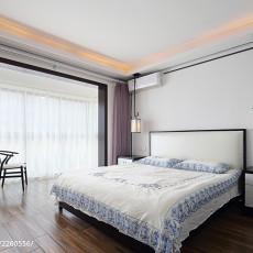 精选105平米三居卧室现代装修图片欣赏