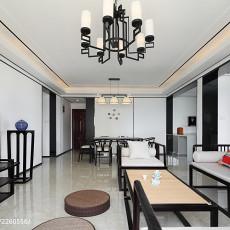 精致102平现代三居客厅装饰美图