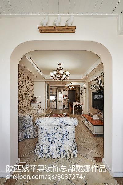 新古典风格二居室装饰设计效果图