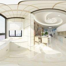 热门90平米二居餐厅简约装修效果图片欣赏