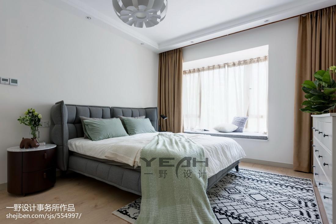 精选大小134平混搭四居卧室设计效果图
