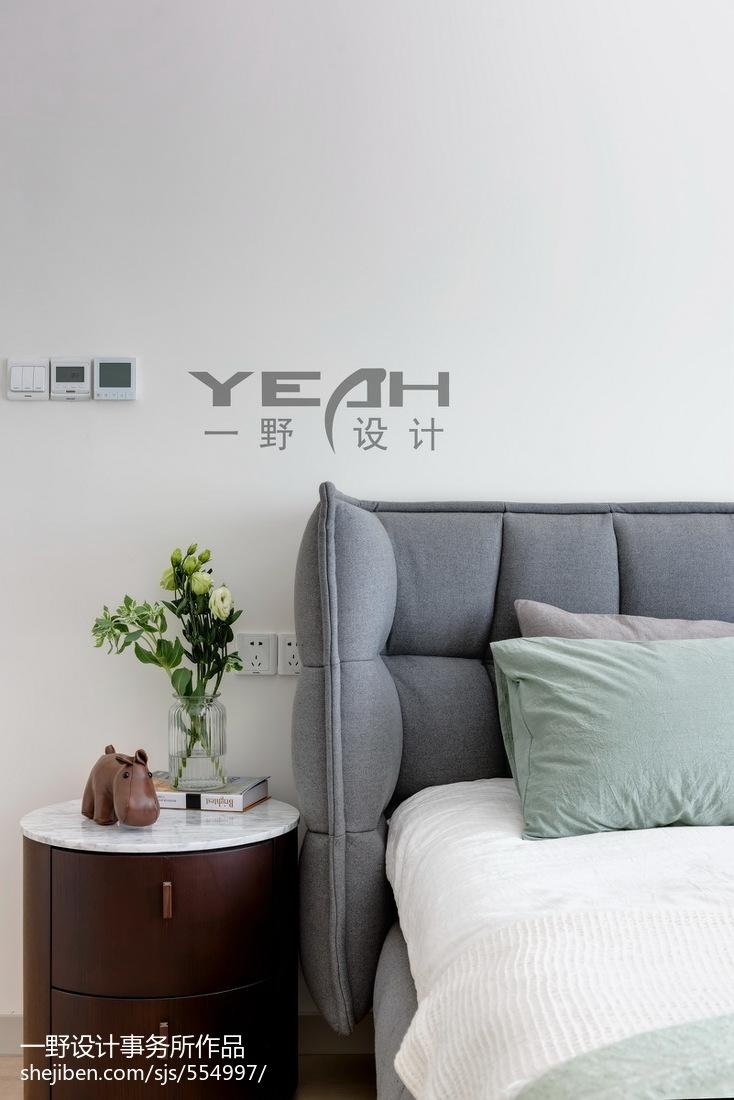 2018面积110平混搭四居卧室装修设计效果图片
