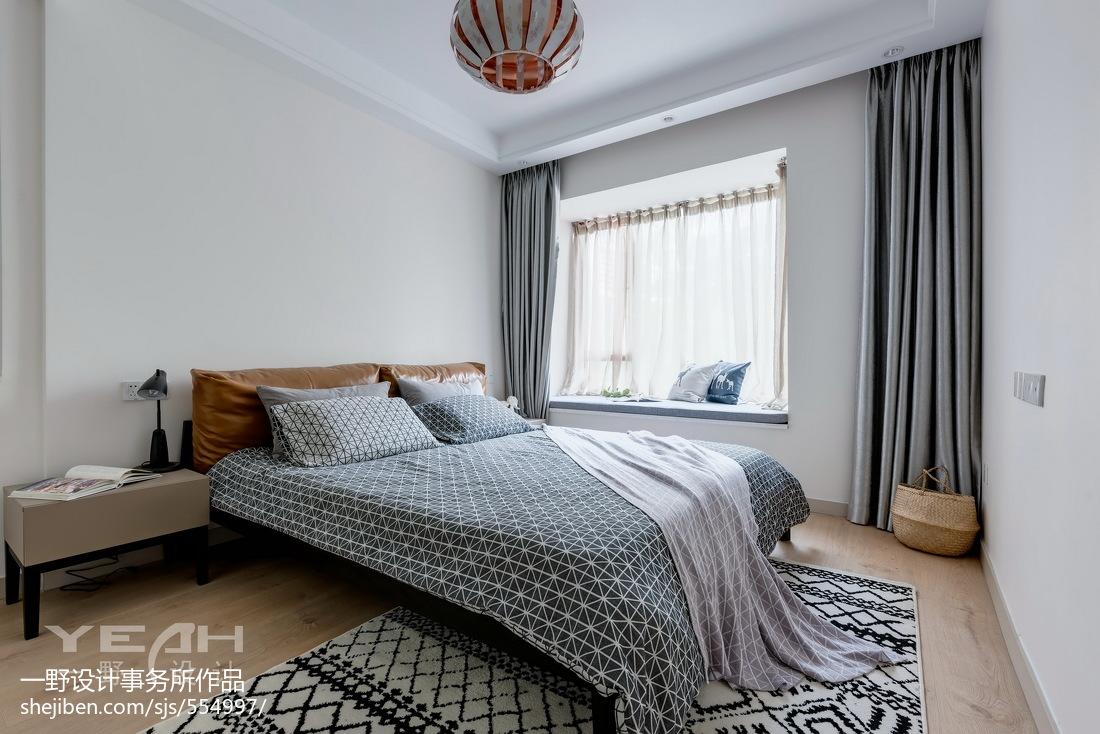 2018精选面积111平混搭四居卧室装饰图片大全