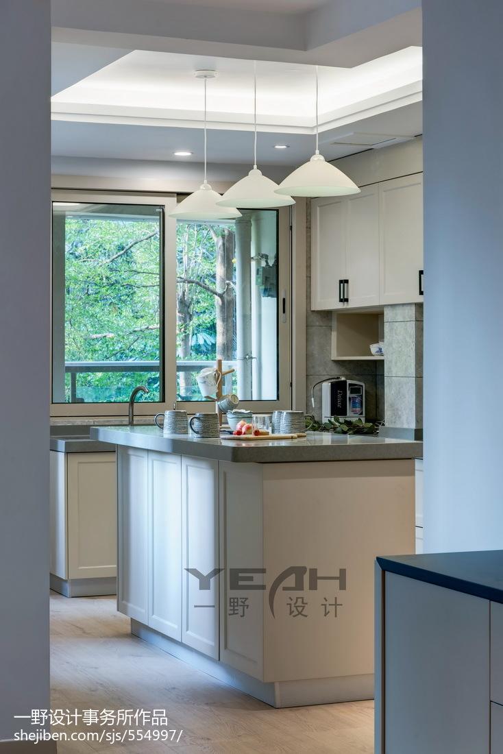 精选混搭四居厨房装修实景图片欣赏