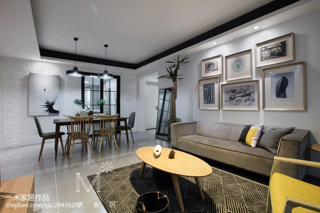 2018精选三居客厅北欧装饰图片