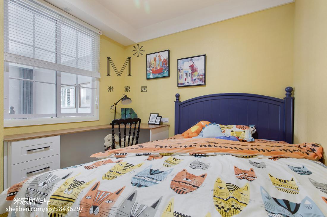精美109平米三居儿童房现代装饰图