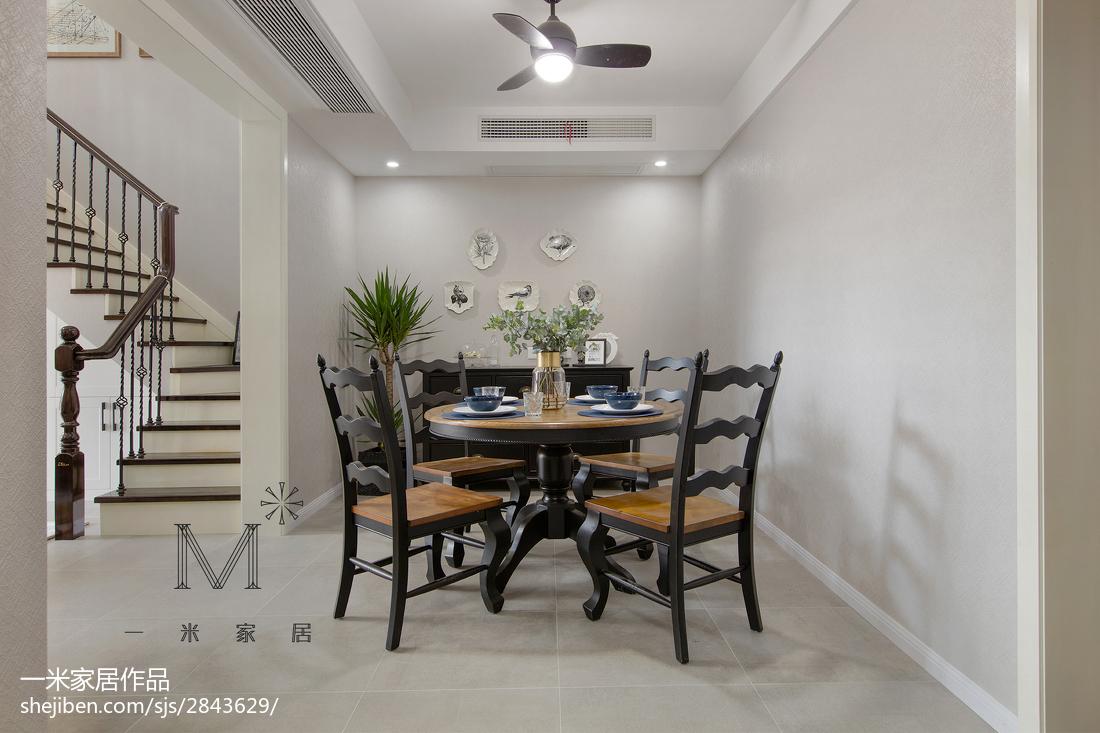 精选100平米三居餐厅现代装修设计效果图片