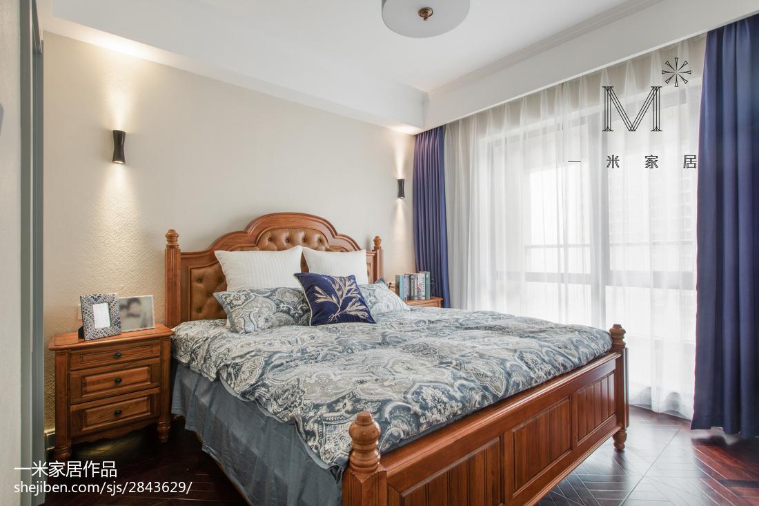 精选美式二居卧室效果图片大全
