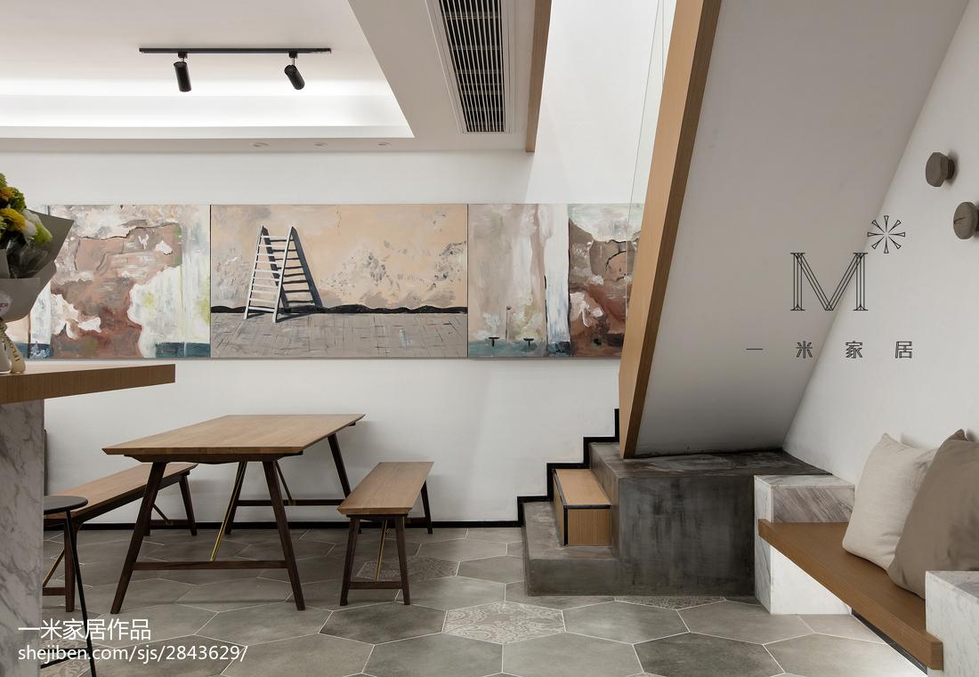 精选101平米三居餐厅现代装修图片欣赏