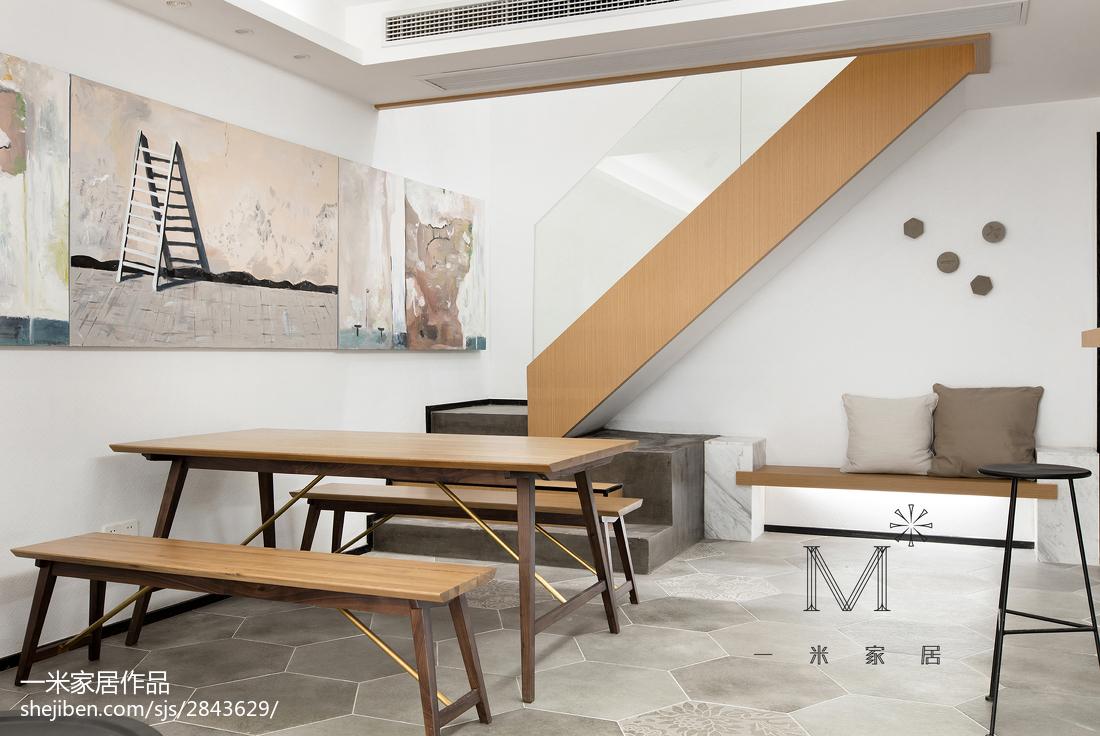 热门三居餐厅现代装修图片