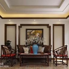 东南亚风格四居室装修效果图欣赏大全