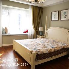 现代新古典风格卧室装修效果图片