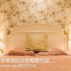 热门田园二居卧室装修效果图片大全
