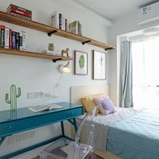 热门105平米三居卧室现代装修图片欣赏