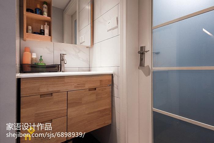 精美小户型卫生间日式装修设计效果图片