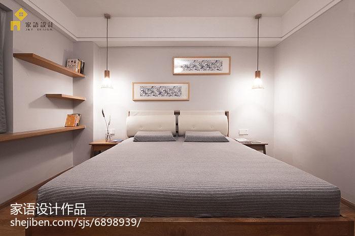 精选面积75平小户型卧室日式实景图片大全