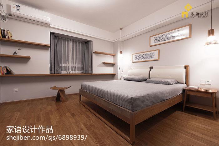 精选83平米日式小户型卧室实景图片欣赏