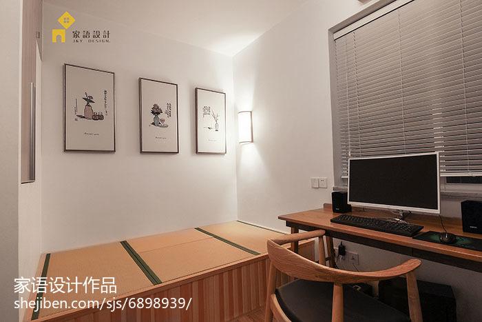 精选日式小户型书房装修实景图片欣赏