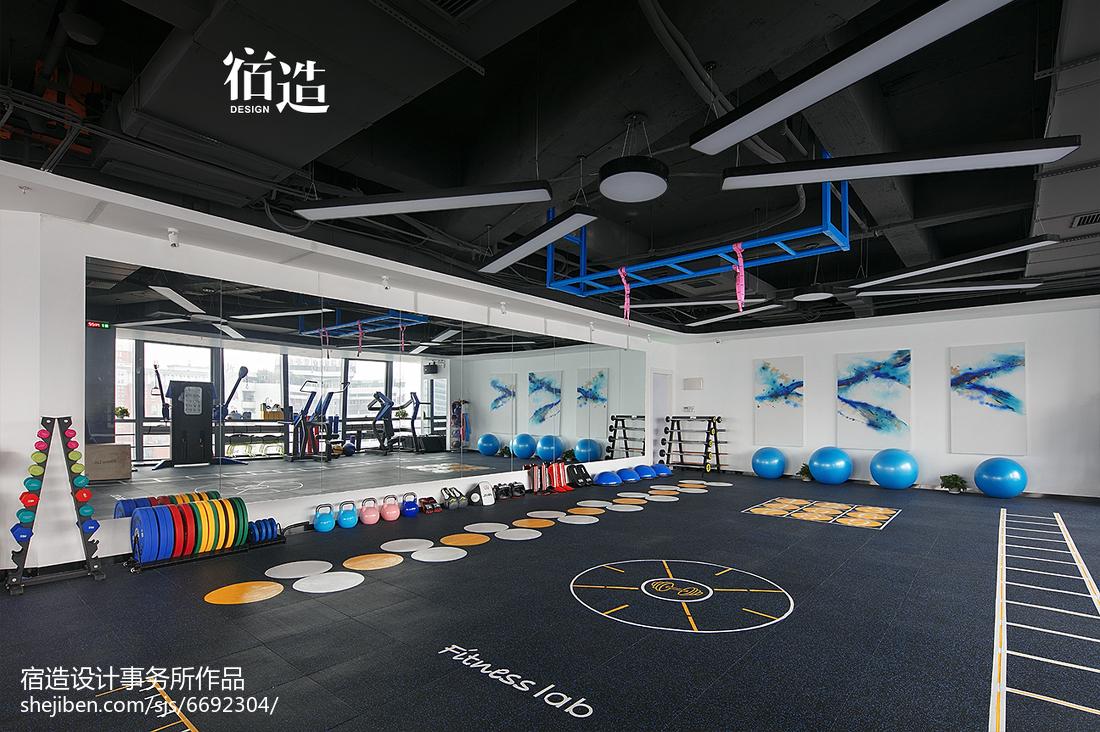 fitness 私教中心活动区设计图
