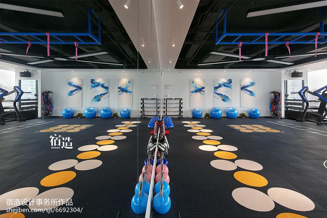 fitness 私教中心活动区设计图片