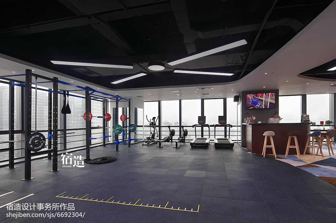 fitness 私教中心运动区设计图片