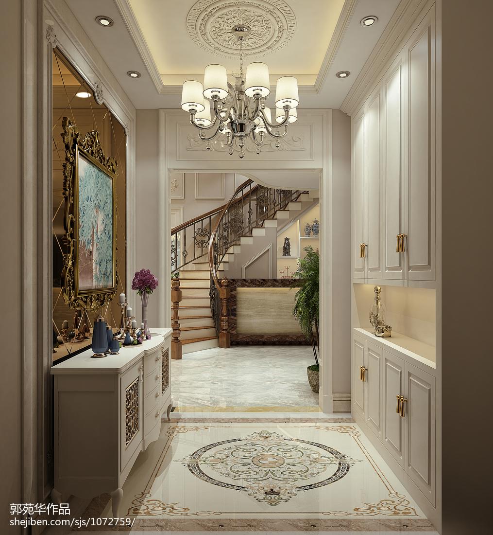 现代简约风格复式家居楼梯效果图片