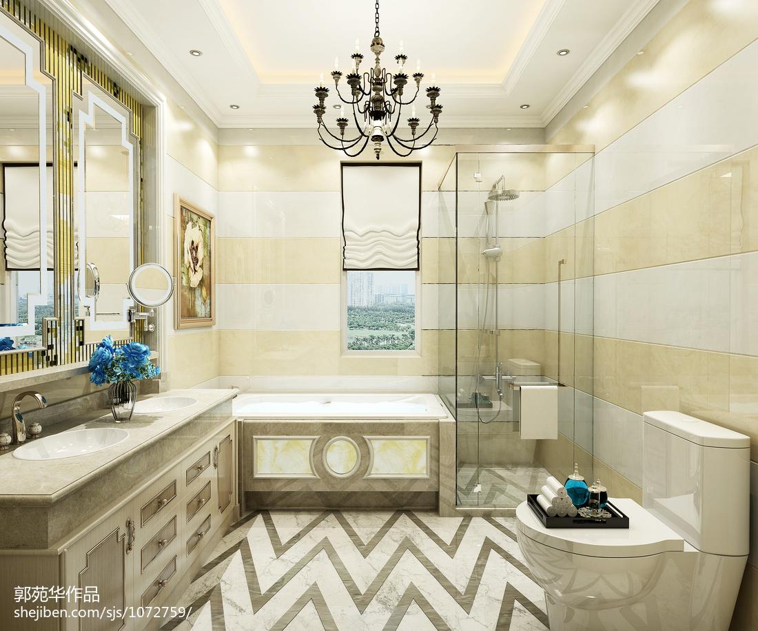 现代简约风格复式家居装修设计效果图片