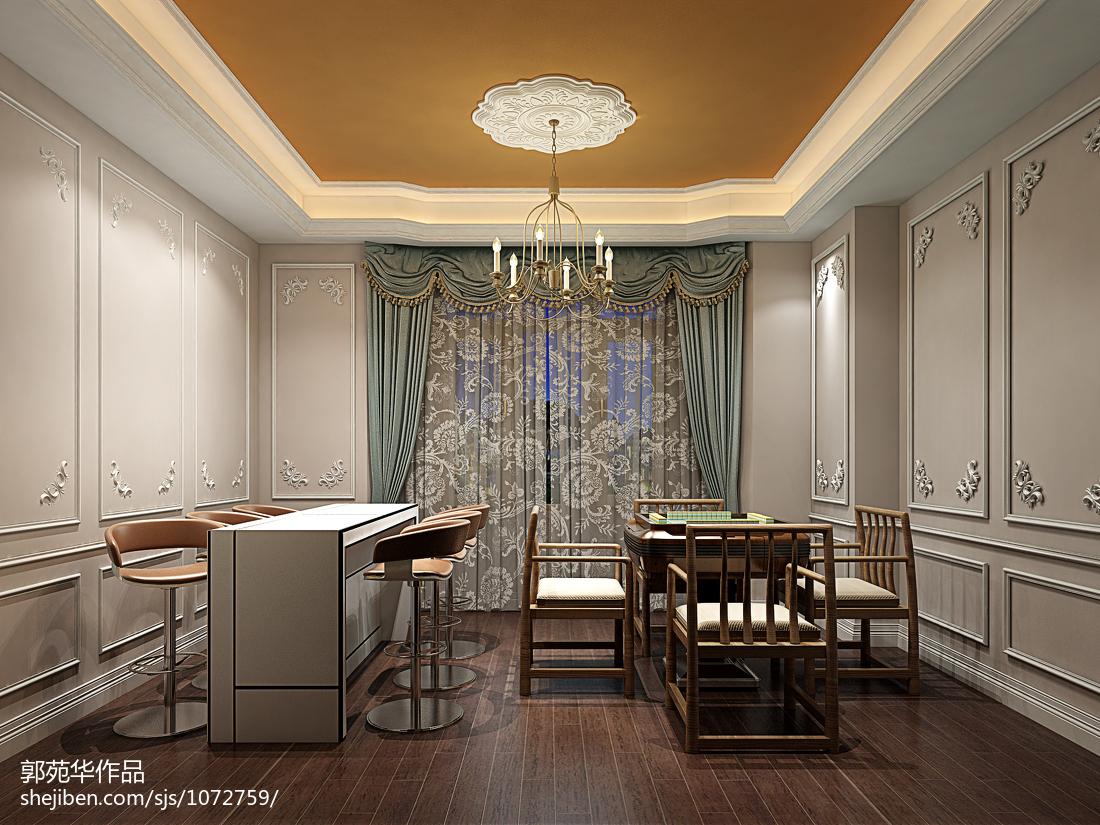 现代简约风格复式家居餐厅效果图片