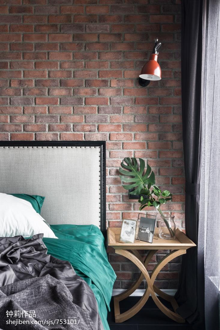 2018精选面积84平小户型卧室北欧欣赏图片