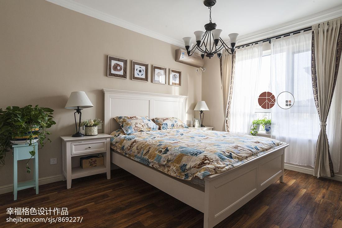 精致47平地中海复式卧室装修效果图