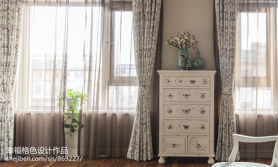 优雅41平地中海复式卧室装修美图
