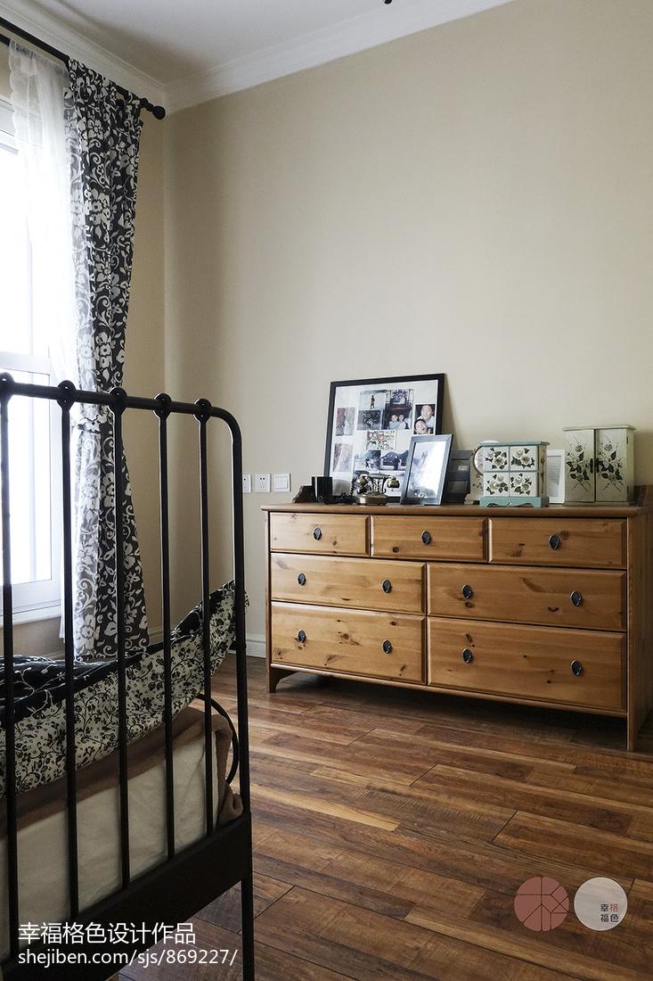 温馨79平地中海复式卧室美图
