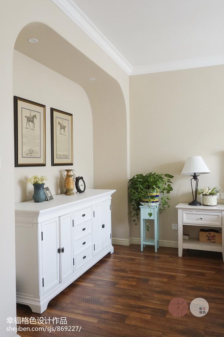 质朴48平地中海复式卧室设计美图