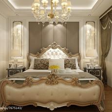 精美面积78平欧式二居卧室装修图片大全