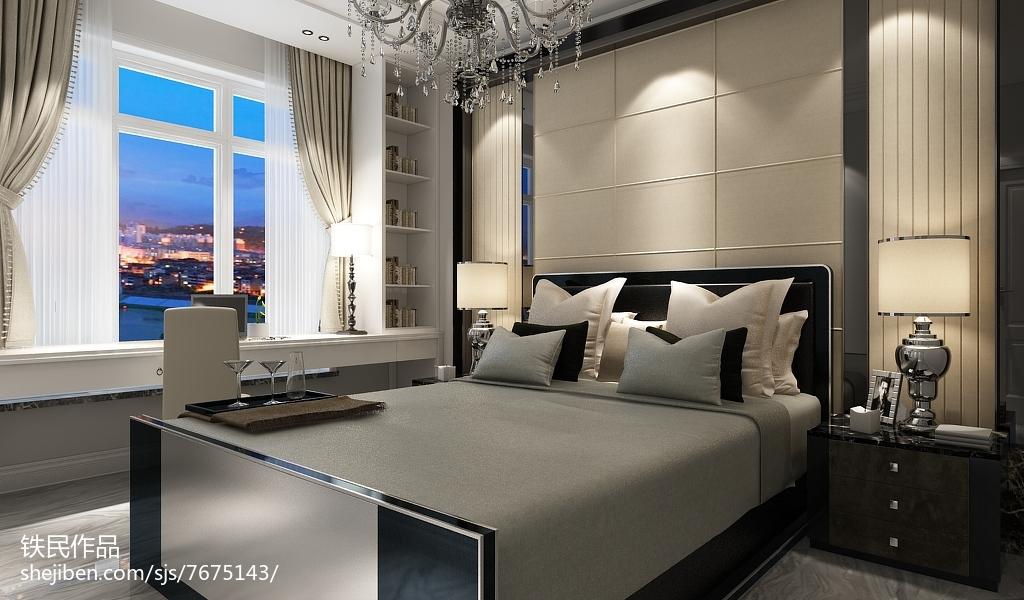 日式禅风卧室设计效果图