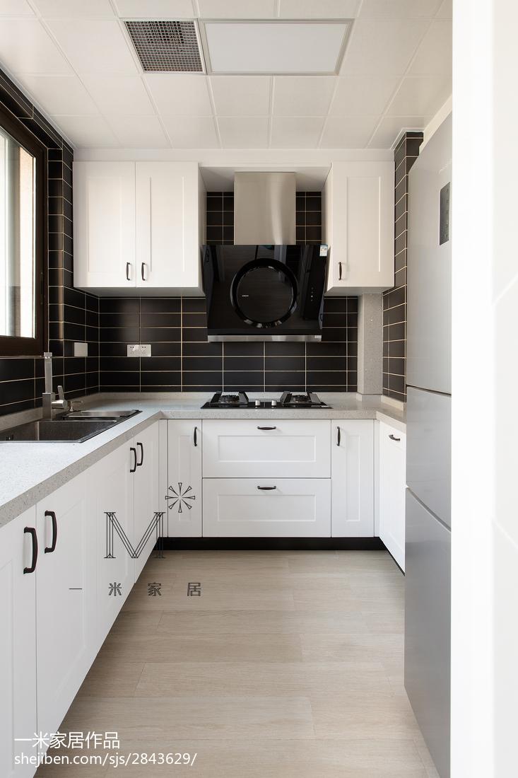 精选三居厨房北欧效果图片欣赏