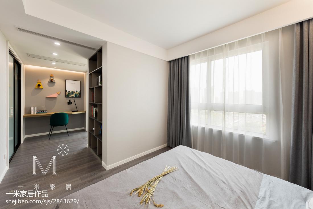 精选面积104平北欧三居卧室设计效果图